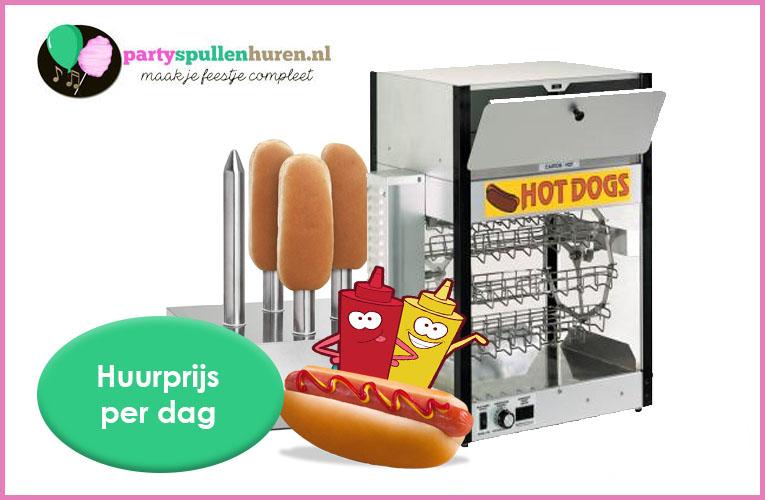Hotdogmachine huren